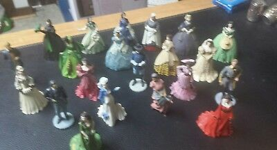 GONE WITH THE WIND Franklin Mint Sculpture Collection 20 Figurines 1989-1991
