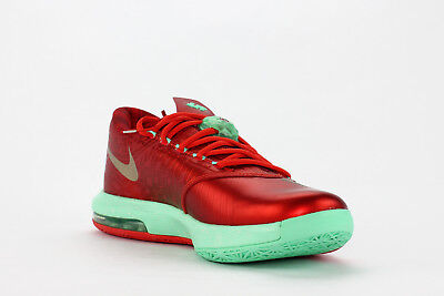 outlet store 94c2b a50c0 Nike KD VI Christmas Pack Crimson Green Glow 6 s 2013  599424 601