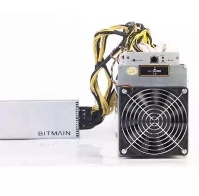 Bitmain Antminer L3+ 504 MH/s with APW3++ PSU And Power Cable
