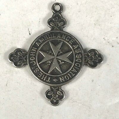 Original WW2 British Order of Saint John Ambulance Service Medal in Silver