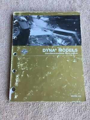 2005 Harley Davidson Dyna Parts Catalog / Manual 99439-05