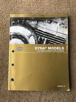 2013 Harley Davidson Dyna Parts Catalog / Manual 99439-13