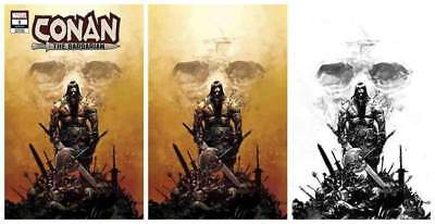Conan The Barbarian #1 Zaffino Colour/inked Virgin/1:25 Variant Ltd To 500 Sets