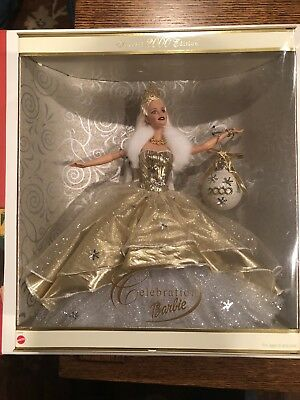 Holiday Celebration Barbie Special Year 2000 Edition Y2K Doll By Mattel