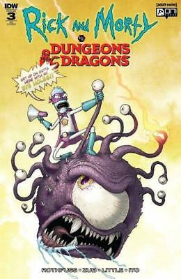 Rick & Morty Vs Dungeons & Dragons #3 (Of 4) Mike Vasquez Variant Limited To 500