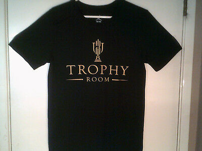 """NEW NIKE KYRIE IRVING """"Trophy Room Tee"""" MEN'S BLACK GOLD T-SHIRT SMALL"""