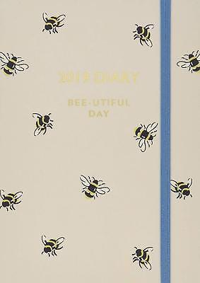 2019 A6 Bumble Bee Diary Cute Cath Kidston Small Planner Organiser Stationery