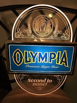 Vintage Olympia Beer Sign (Second to None)