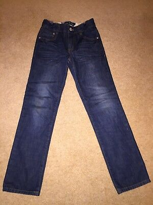 MINI BODEN BOYS SKINNY BLUE JEANS age 9 Years