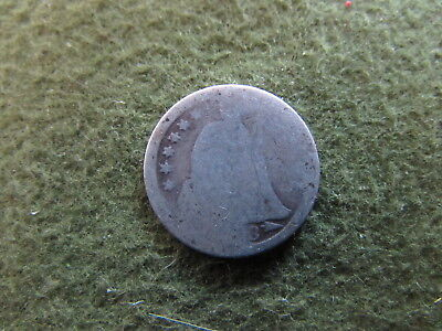 1853 Arrows Seated Liberty Dime Philadelphia Mint US 10 Cent Silver Coin
