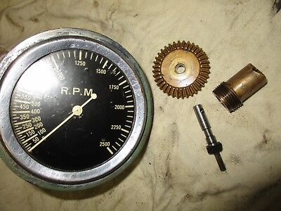 monarch 10EE 2500 rpm tachometer and drive