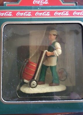 Coca Cola Town Square Collection Soda Jerk Christmas gift in box