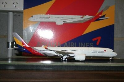 """JC Wings 1:200 Asiana Airlines Airbus A350-900 HL8078 """"Flaps Down"""" (LH2054A)"""