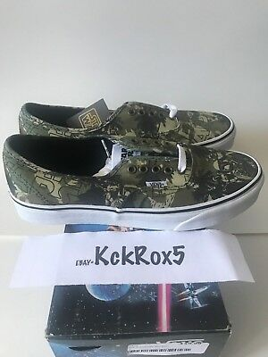 263d19db0312df Vans Star Wars Authentic Boba Fett Camo 8-13 New Hope Syndicate Repeat