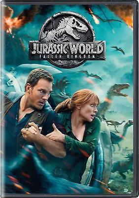 Jurassic World: Fallen Kingdom (DVD, 2018) BRAND NEW, Chris Pratt *FREE SHIPPING