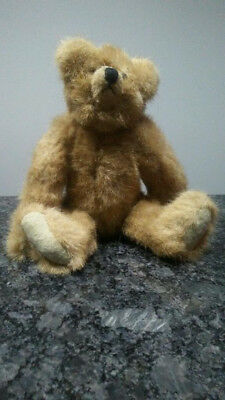 """Mary Meyer's """"The Green Mountain Bears"""" Jointed 8"""" Bear Named Haystack 1993"""