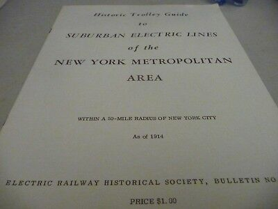 Historic Trolley Guide to Suburban Electric Line of New York City as of 1914