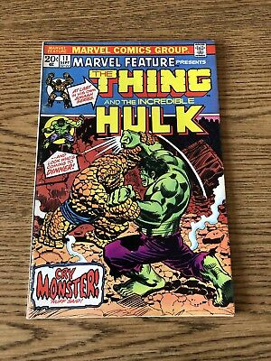 Marvel Feature 11 1978 Marvel F Thing & Incredible Hulk App