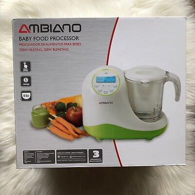 AMBIANO: BABY FOOD PROCESSOR Brand New, Never Used, Never Opened