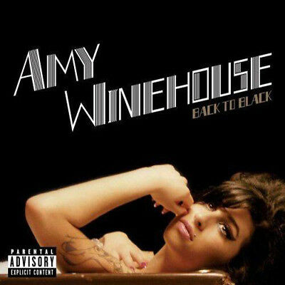 Back to Black [PA] Amy Winehouse CD 2006 Rehab, Love Is A Losing Game, Tears Dry