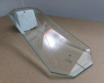 Vintage Sunburst Starburst Star Glass Panel Lamp Chandelier Replacement 12 inch