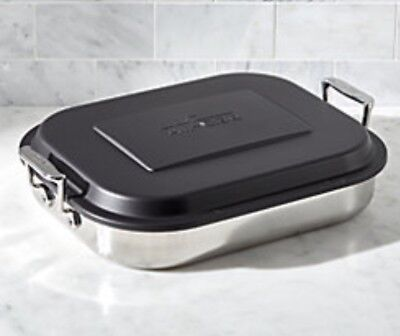 All-Clad Stainless Steel Lasagna Baker Pan With Lid E9019964