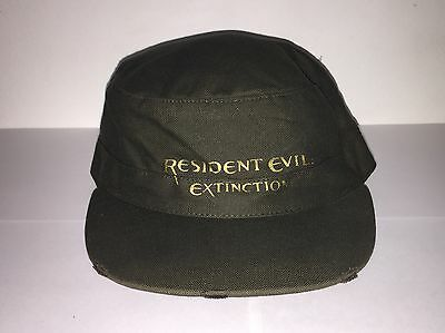 VERY RARE Capcom Resident Evil: Extinction Movie Promotional Military Styled Hat