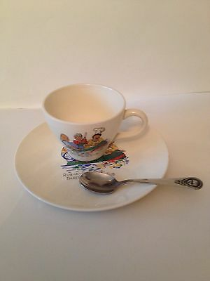 Baby Plate, Cup, And Spoon