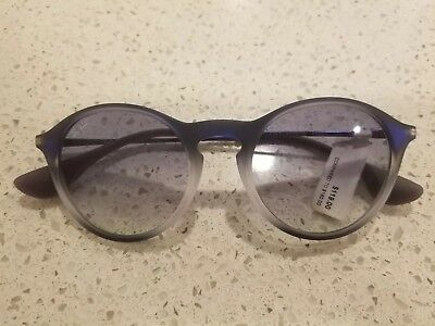 44560769d4 New Ray Ban RB4243 622519 49MM Round Blue Gradient Lens Sunglasses ITALY