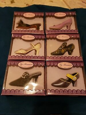 My Treasures Miniature Shoes, Lot Of 6