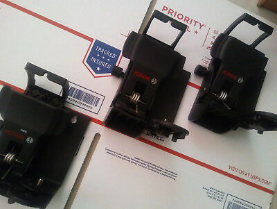 LOT OF (X3) BOSCH BM3 Laser Positioning Device with Ceiling Clamp