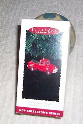 NIB-Hallmark Keepsake Ornament-1956 Ford Truck-All American Trucks-#1 in Series!