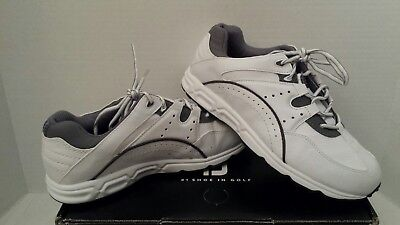PRE-OWNED FootJoy Mens Athletic Golf Specialty Waterproof Spikeless Shoes SZ 9.5
