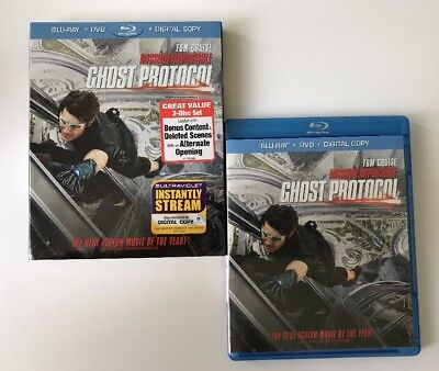 Mission: Impossible - Ghost Protocol (Blu Ray / DVD) Tom Cruise Jeremy Renner