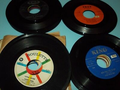 LOT Of 50 Obscure Doo Wop Teenage 45's FLAMINGOS ROOMATES LOVE PLANET JOE BLUE