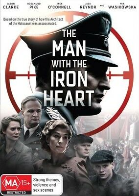 The Man With The Iron Heart (Dvd, 2018) 🍿 [Brand New & Sealed]