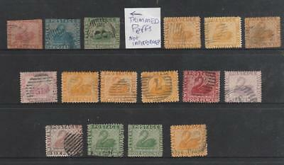 Collection Western Australia Early Swans Used Australia States