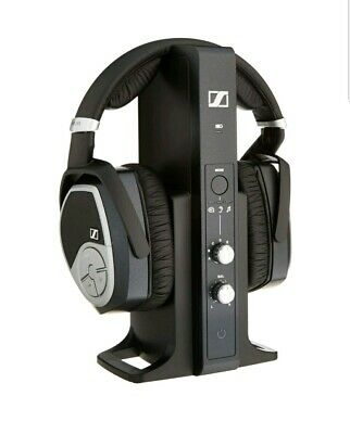 cdc2283e854 Sennheiser Digital Wireless Headphone System - Black (RS 195) TV Surround  Sound