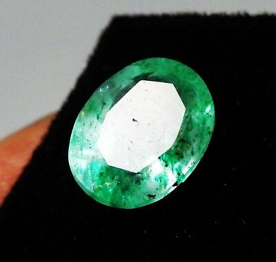 2.05 Ct. Natural Untreated Oval Shape Colombian Emerald Loose Gemstone J368 L