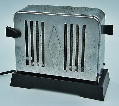 Collectable Antique Vintage Art Deco Toaster - Agueda Portugal - Untested