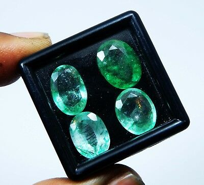 13.00 Ct. Natural Untreated Lot Colombian Emerald Loose Gemstone J369 L