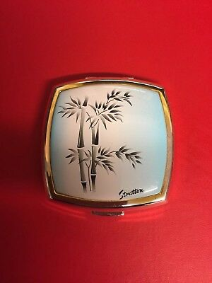 gorgeous Vintage Stratton Powder Compact with lovely design. Never Used