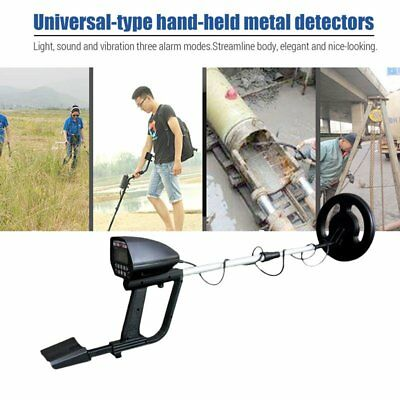 MD-4050 Deep Sensitive LCD Metal Detector Waterproof Search Coil Gold Hunter SR