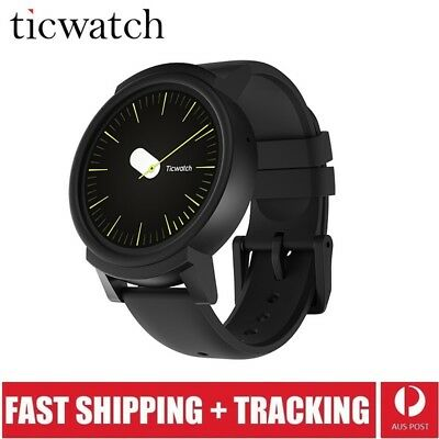 Ticwatch E Shadow Smart Watch1.4 inch OLED Display Android Wear 2.0
