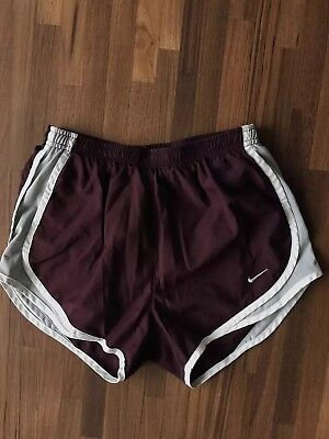 Nike Dri-fit running shorts built in liner and pocket women's XS