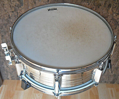 """Vintage 1984 YAMAHA 7000 Pre-Recording 5,5"""" Snare Drum SD 550 MA - Steel"""