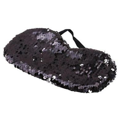 Glitter Sequin Sleep Eye Mask Padded Shade Cover Travel Relax Sleeping Aid one
