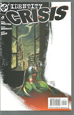 Dc Comics  Identity Crisis  #5  Justice League Of America   Nm Or Better  2004