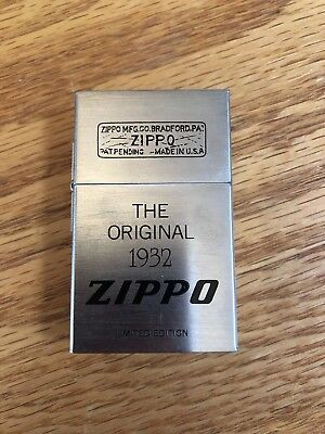 The Original 1932 Zippo Limited Edition Second Release