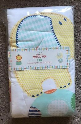 BRAND NEW Mothercare Roll Up Roll Up Coverlet For A Cot Or Cot bed Unisex